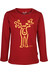 Elkline Rudolfiiinchen trui Kinderen rood